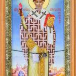 Свт. Спиридон Тримифунтский с частицей его тапочка